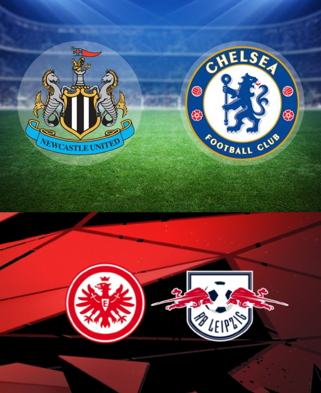 Newcastle United,Chelsea,Eintracht Frankfurt,RB Leipzig,free sports betting tip,free sports betting pick,high soccer prediction,home win tips,today high odds prediction,betting tips odd. Newcastle United v Chelsea and Eintracht Frankfurt v RB Leipzig - FREE SPORTS BETTING TIP, FREE SPORTS BETTING PICK (21-11-2020)